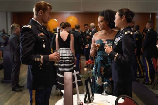Military Cocktail Party on Valor Season 1 Episode 2