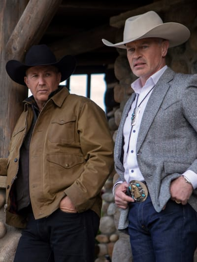 John Dutton and Malcolm Beck - Yellowstone