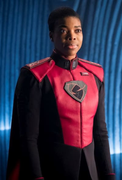 Jayna - Zod - Krypton Season 1 Episode 6