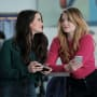 Jane and Sutton Waiting - The Bold Type Season 2 Episode 1