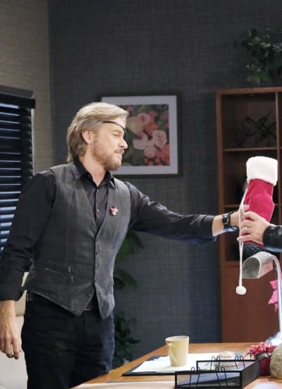 Steve and John Team Up/Tall - Days of Our Lives