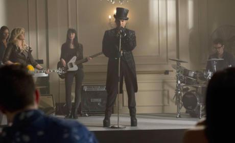 Adam Lambert Guest Stars