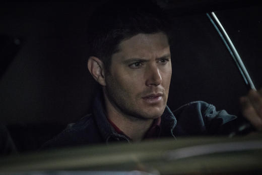 Dean keeps his eyes on the road - Supernatural Season 12 Episode 21