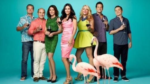 Cougar Town Cast Image