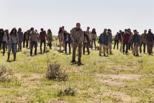 The Horde - Fear the Walking Dead Season 2 Episode 8