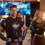 Citizen Steel and Supergirl - DC's Legends of Tomorrow Season 2 Episode 7