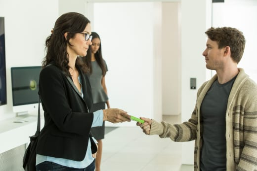 Athena Meets Milo - Humans Season 2 Episode 1