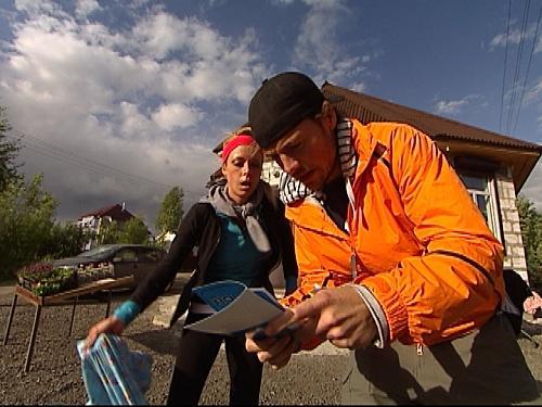 Thomas and Jill Read Their Clue