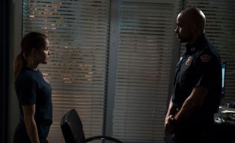 Talking - Station 19 Season 2 Episode 6