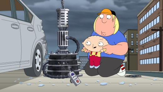 Body Swapping - Family Guy
