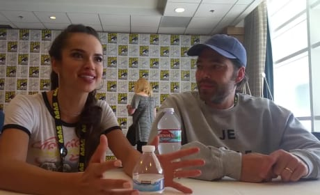 Wynonna Earp: Tim Rozon and Tamara Duarte Talk Fandom and Daddy Doc