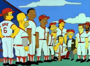 Homer at the Bat Picture