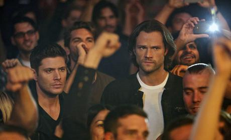 "Supernatural Photos from ""Rock Never Dies"""