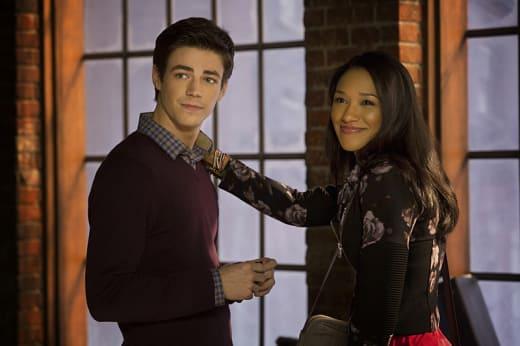 Barry and Iris - The Flash Season 1 Episode 1