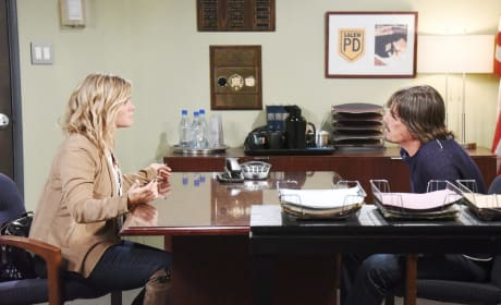 Sami Gets Tough With Lucas - Days of Our Lives