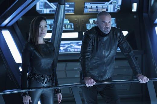 Georgiou and Leland - Star Trek: Discovery Season 2 Episode 3