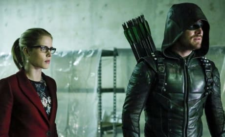 Arrow: Oliver And Felicity