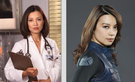 Ming-Na Wen - Then and Now - Agents of S.H.I.E.L.D.