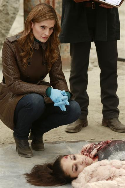 Beckett and a Dead Body