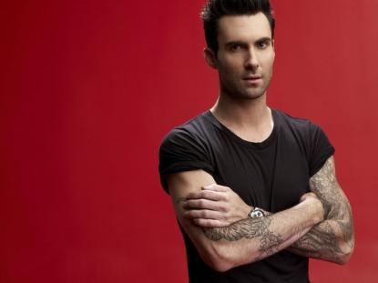 Adam Levine NBC Promo Pic