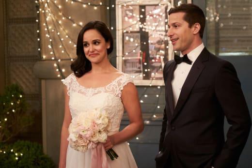 Jake and Amy's Wedding Day - Brooklyn Nine-Nine