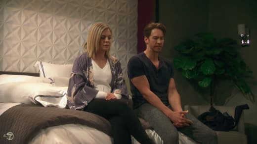 Maxie Sits With Peter — General Hospital