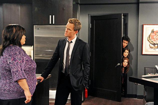 Barney Worries His Friends
