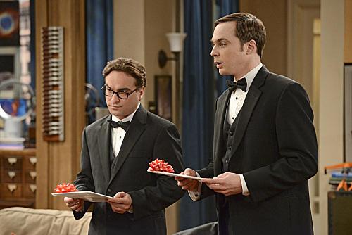 Leonard & Sheldon Prepare For The Wedding