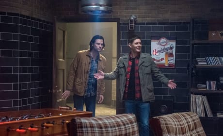 Dean's Happy - Supernatural Season 13 Episode 16