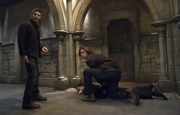 Sam and Dean on the hunt - Supernatural Season 11 Episode 6