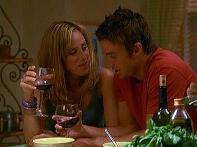 Nico and Kirby Enjoy Some Wine