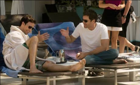 Conner and Mason in LA