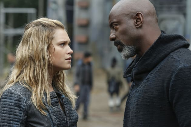 Clarke and Jaha - The 100 Season 4 Episode 4