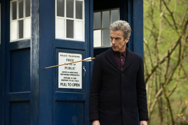 Shot Through the Tardis - Doctor Who Season 8 Episode 3