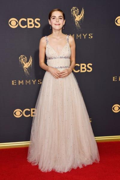 Kiernan Shipka Attends Emmys