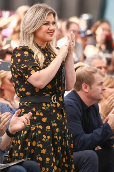 Kelly Clarkson Attends Simon Cowell Event