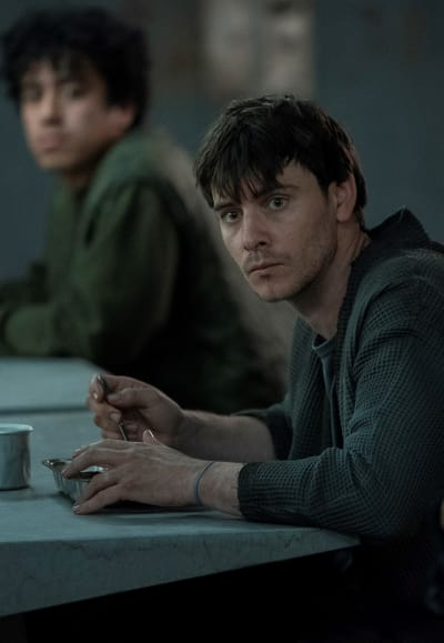 Peter Prime at his Meal - Counterpart Season 2 Episode 5