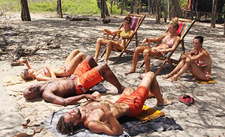 Ometepe Sun Bathes