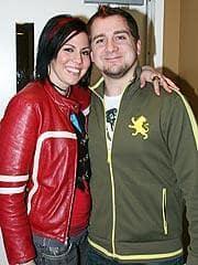 Gina Glocksen and Joe Ruzicka