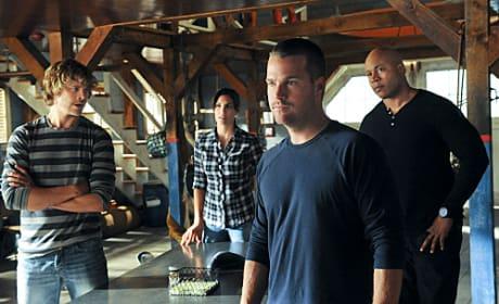 NCIS: LA Team in Action