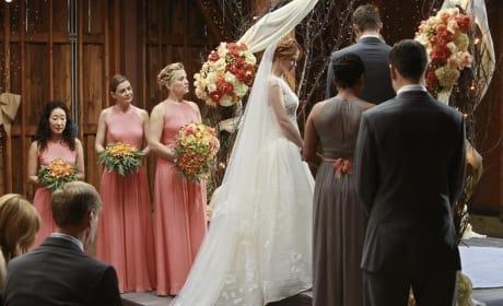 The Wedding Begins