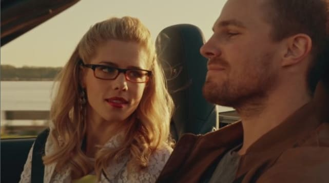 Oliver and Felicity - Arrow