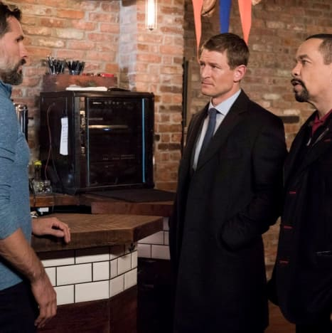 (TALL) Fin and Stone Talk - Law & Order: SVU Season 20 Episode 9