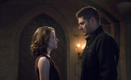 Dean and Amara have a chat - Supernatural Season 11 Episode 6