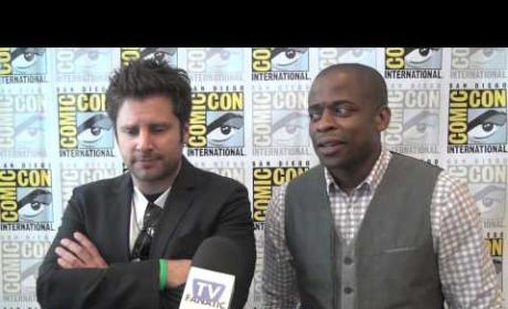 James Roday and Dule Hill Interview