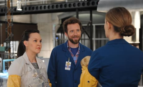Hodgins, Daisy, and Brennan Work Hard to Solve the Murder of a Famous Crossword Puzzle Master - Bones Season 10 Episode 8