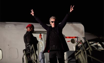 Doctor Who: Peter Capaldi Is Exiting the TARDIS!!