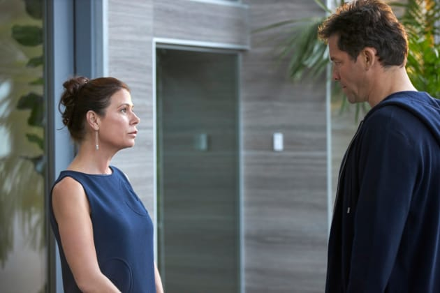 Helen and Noah at Odds - The Affair