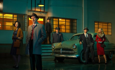 Cast Photo for Project Blue Book