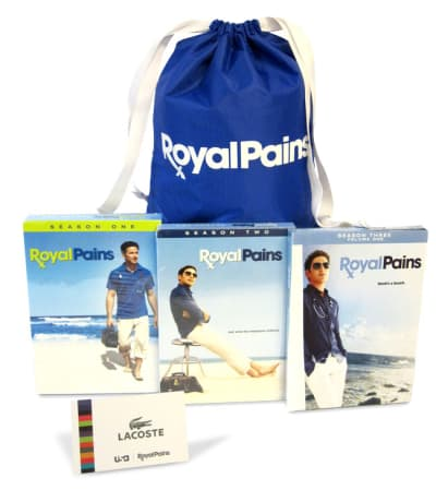 Royal Pains Giveaway Pack